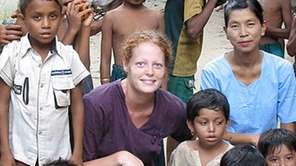 Kaci Hickox, the first health care worker to