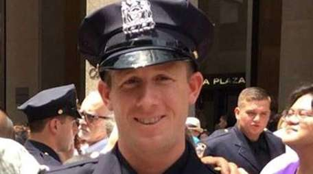 New York City Police Officer Kenneth Healey is