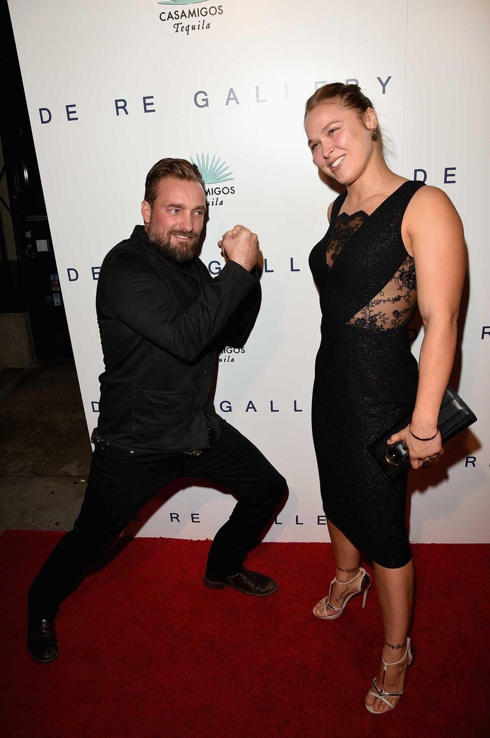 WEST HOLLYWOOD, CA - OCTOBER 23: UFC fighter
