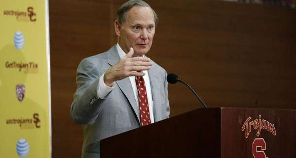 Pat Haden is the athletic director for Southern