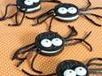 The spooky spider cookie recipe can be found