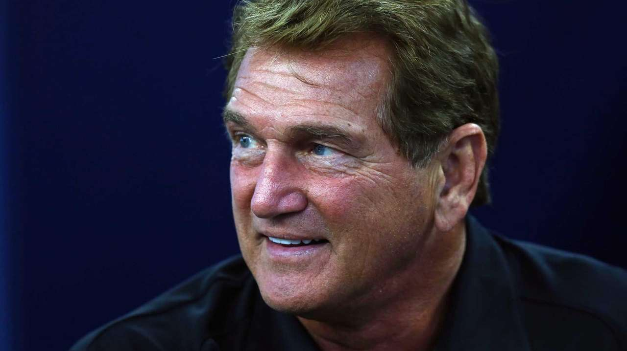 Former NFL player Joe Theismann is seen before