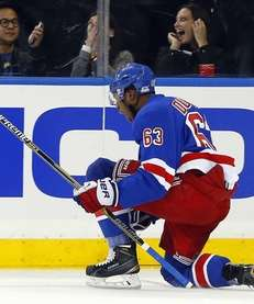 Anthony Duclair #63 of the New York Rangers