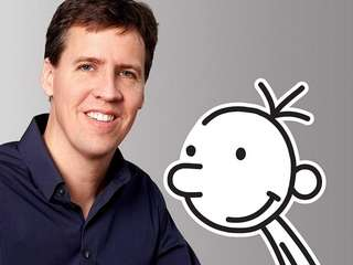 Best-selling author Jeff Kinney speaks and signs copies