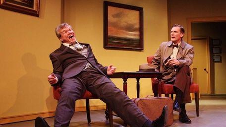 John Kern, left, and Matthew Conlon appear in