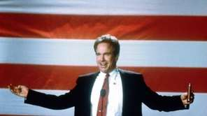 "Warren Beatty as Sen. Jay Bulworth ""Bulworth."""