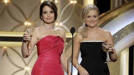 Tina Fey and Amy Poehler during the 71st