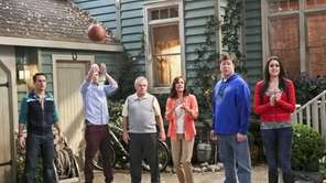 """The McCarthys"" is an ensemble family comedy about"