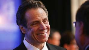 Governor Andrew Cuomo is pictured during a press