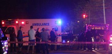 Nassau County Police investigate the homicide of a