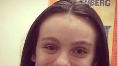 Emma Parente, 15, a sophomore at Kellenberg Memorial