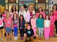 Students and staff at Tangier Smith Elementary School