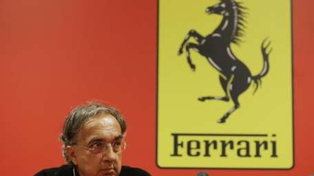 Ferrari is considering moving its financial unit out