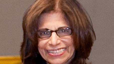 Patricia Ward, a longtime language arts professor at