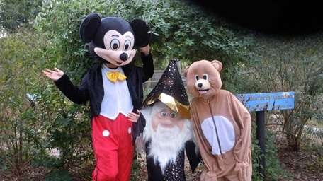 Costumed fun is one not-so-scary feature of the