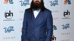 Television personality Jep Robertson of 'Duck Dynasty' arrives