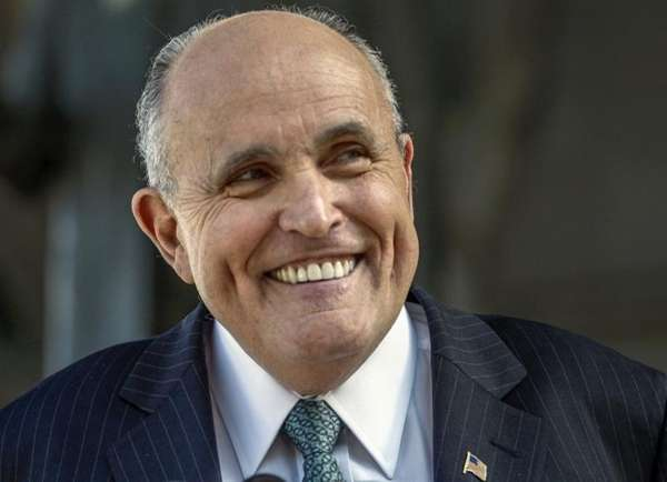 Former New York City Mayor Rudy Giuliani on