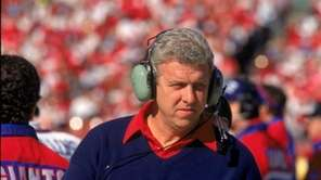 Bill Parcells coached the New York Giants from