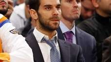 Jose Calderon #3 of the New York Knicks