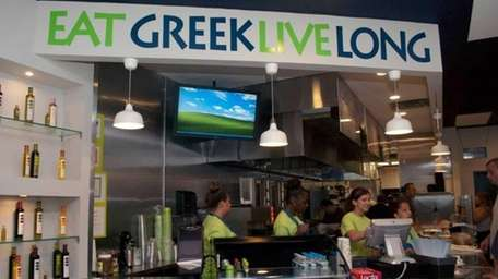 GreeKrave is a new Greek fast food eatery