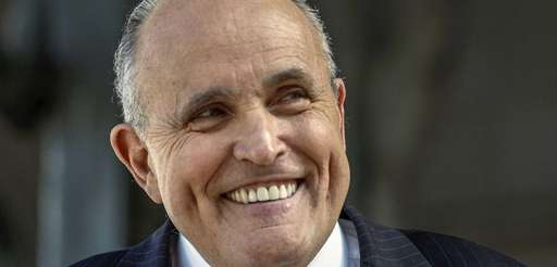 Former New York City Mayor Rudy Giuliani Thursday