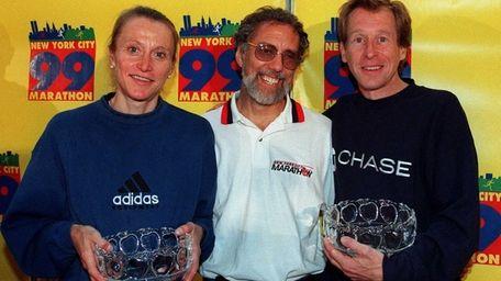 Nine-time winner of the New York Marathon Grete