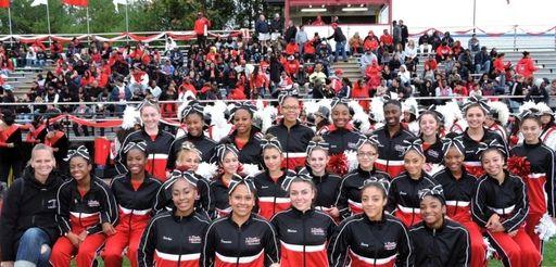 Freeport cheerleaders