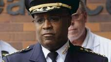 Chief of Department Philip Banks III, the highest