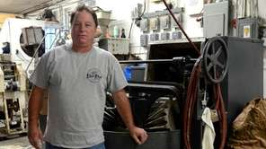 Deer Park Ravioli owner Ernie Oliviero, 51, with