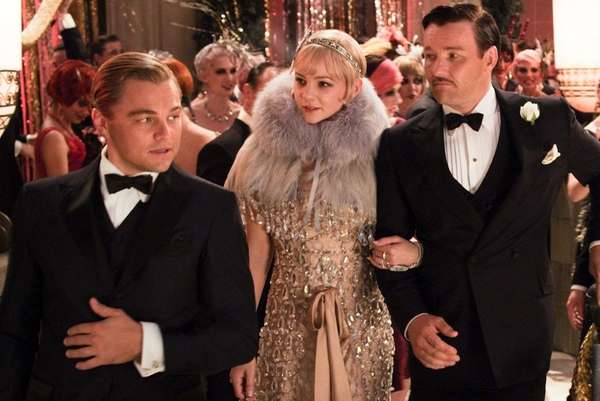 Leonardo DiCaprio as Jay Gatsby, Carey Mulligan, as