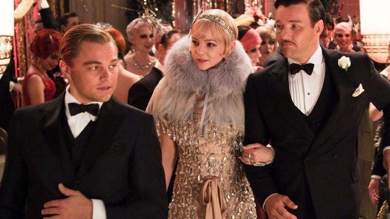 Leonardo DiCaprio as Jay Gatsby, Carey Mulligan, as