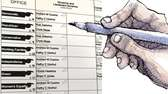 An illustration of voting on a New York