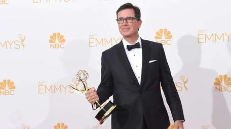 Emmy winner Stephen Colbert will host this year's