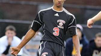 Syosset's Richie Rambarran, who scored the team's first