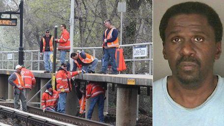 Bernard Jenkins, 58, was arrested by MTA police