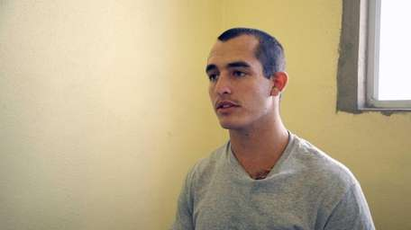 Sgt. Andrew Tahmooressi is shown in a May