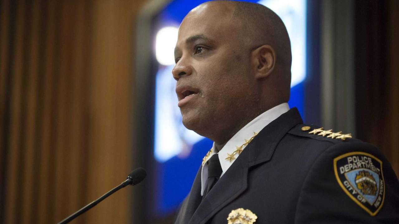Chief Philip Banks III speaks to the media