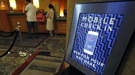Marriott International launched the ability to check in