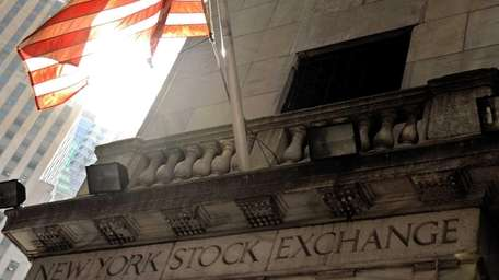 The New York Stock Exchange at the beginning