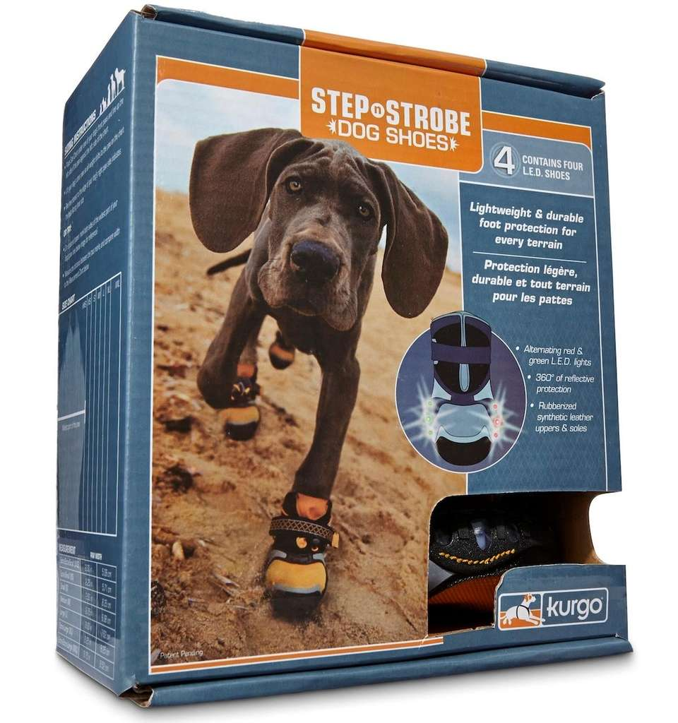 Step N Strobe Dog Shoes by Kurgo are