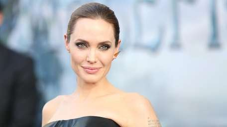Angelina Jolie arrives at the world premiere of