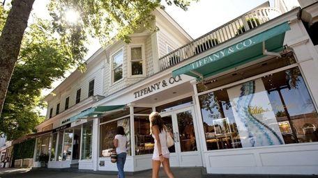 Those living in East Hampton spend 27.8 percent