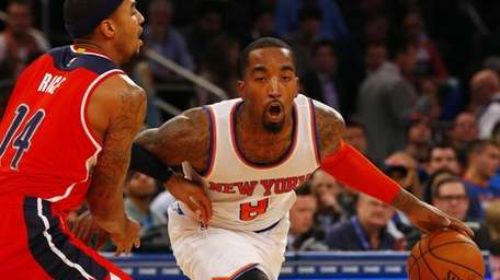 J.R. Smith of the New York Knicks is