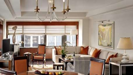 The New York Palace, a luxury hotel on