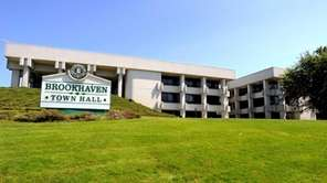Brookhaven Town Hall is at 1 Independence Hill