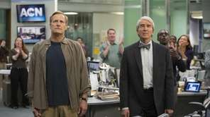 "Jeff Daniels, Sam Waterston in ""The Newsroom"" season"