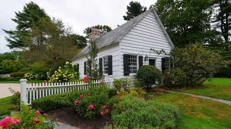 The estate's original owner purchased the 1807 schoolhouse