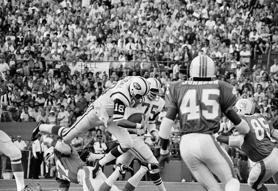 The Jets went 4-10 in 1970, their first