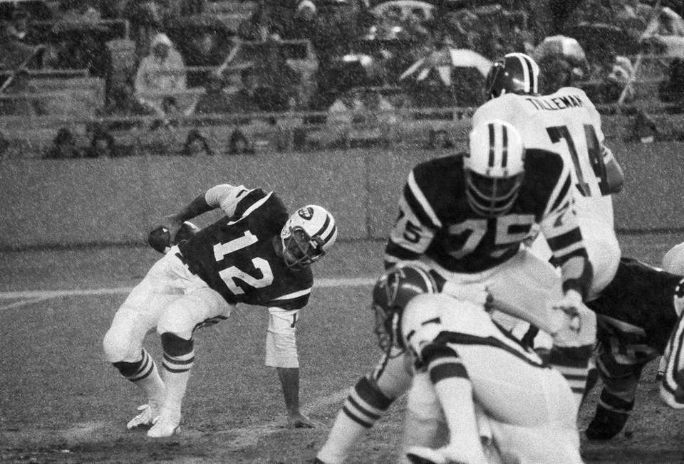 The Jets went 4-10 in 1973, Weeb Ewbank's