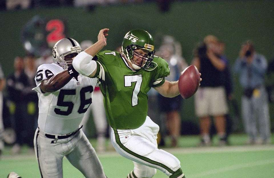 The Jets went 3-13 in 1995, Rich Kotite's